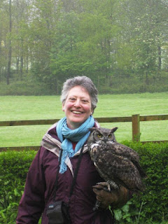 With Desmond the Great Tufted Owl