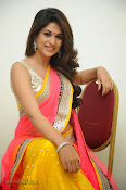 Shraddha das photos in Saree at Rey audio launch-thumbnail-9
