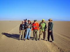 En busca de la ruta del Inca.  A unos  25 km  al  Norte de Quillagua