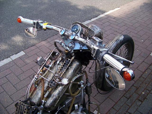 Harley Davidson Steampunk Ratchopper Motorcycle