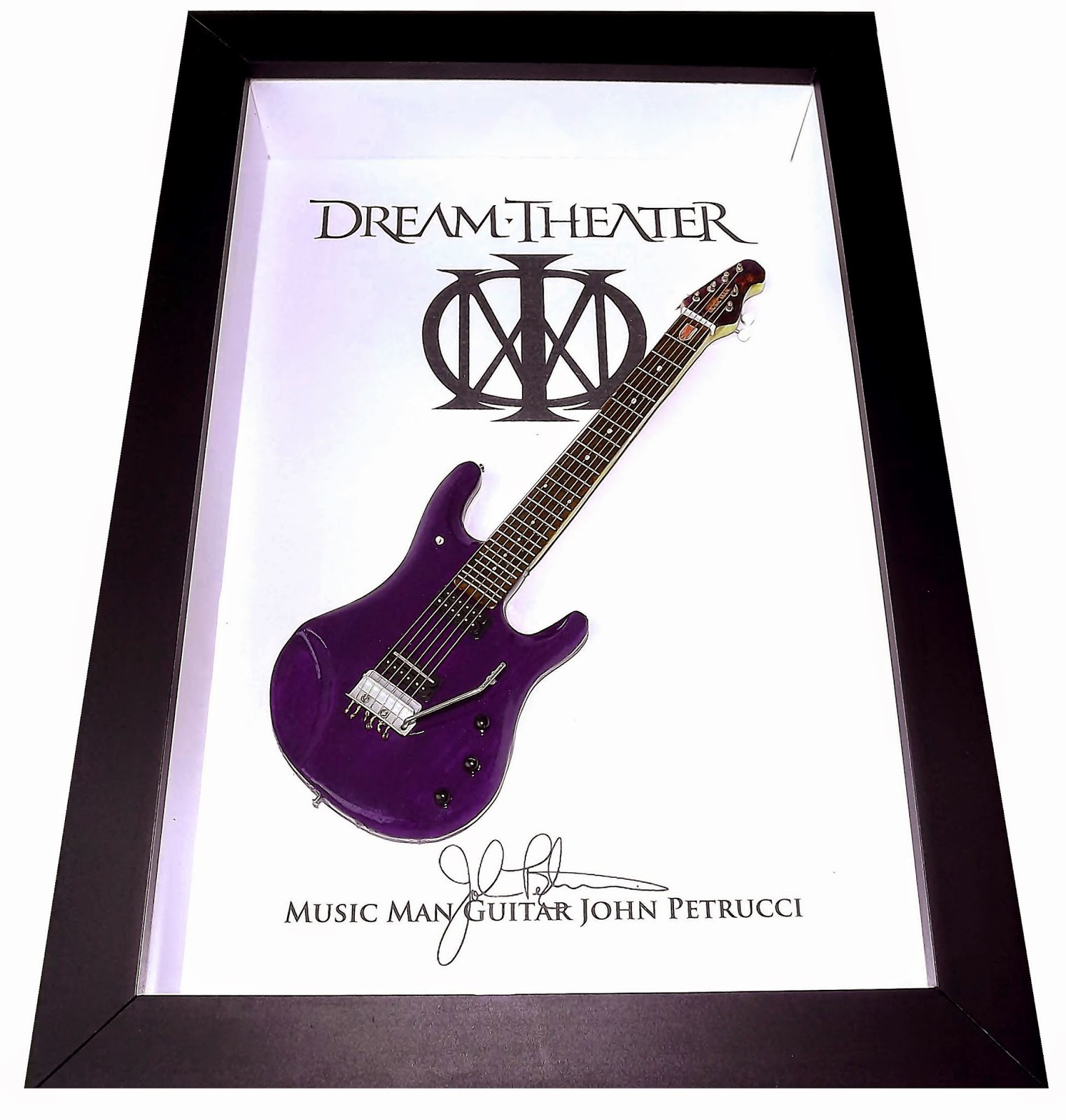 Quadro Dream Theater Music Man Guitarra John Petrucci