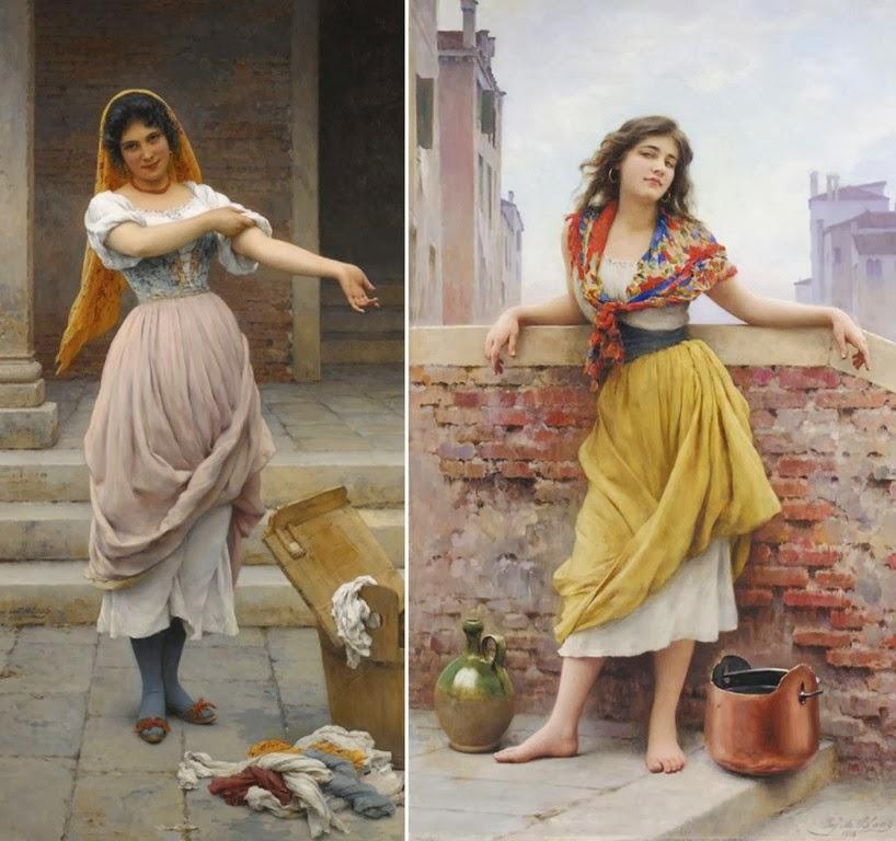 retratos-femeninos-pintados