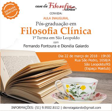 Vai acontecer em São Leopoldo/RS!