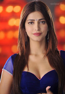 Shruti Hassan  Sexy Boobs Cleavage Hot Photo