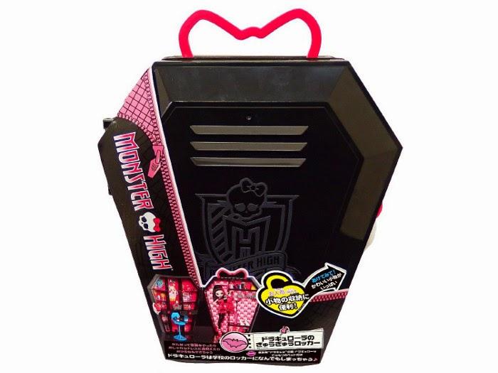 TOYS : JUGUETES - MONSTER HIGH   Dracutaquilla + Muñeca Draculaura  Draculaura w/ Locker  Producto Oficial 2014 | Mattel BGT61 | A partir de 6 años