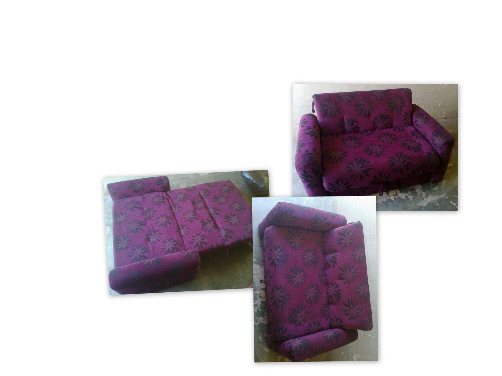 Reciclado de sillas y sillones sof cama reciclado for Reciclado de sillones