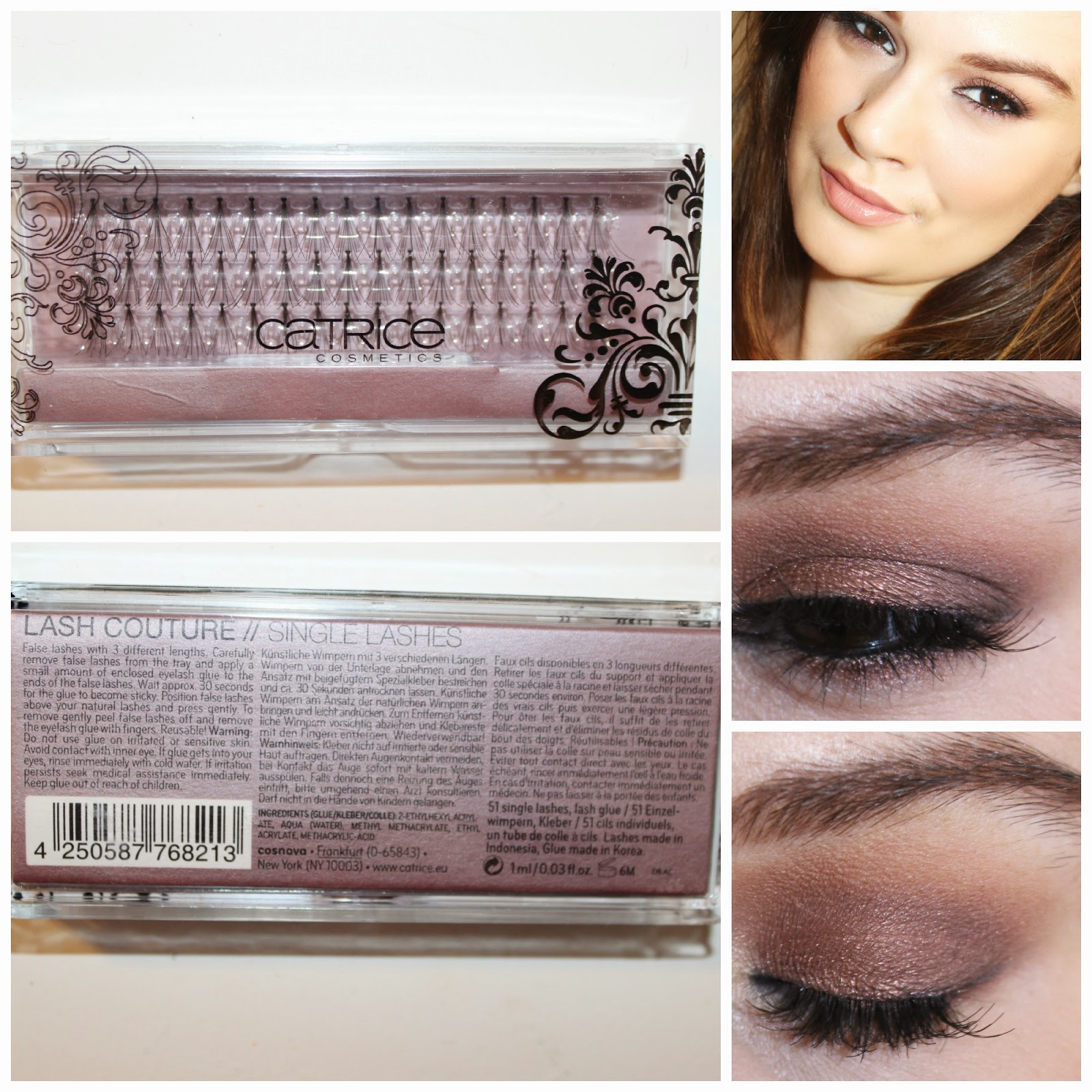 Beautiful Me Plus You Catrices Lash Couture Single Lashes Review