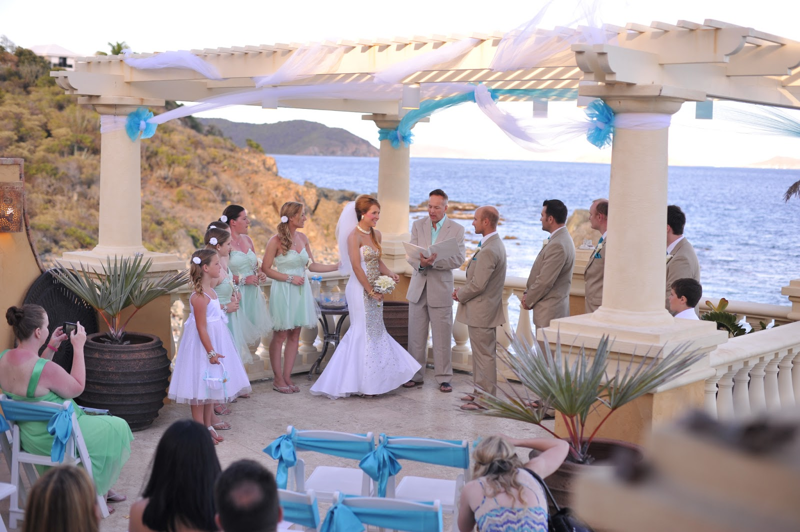 Ocean Palm Villa St John Island Bliss Weddings