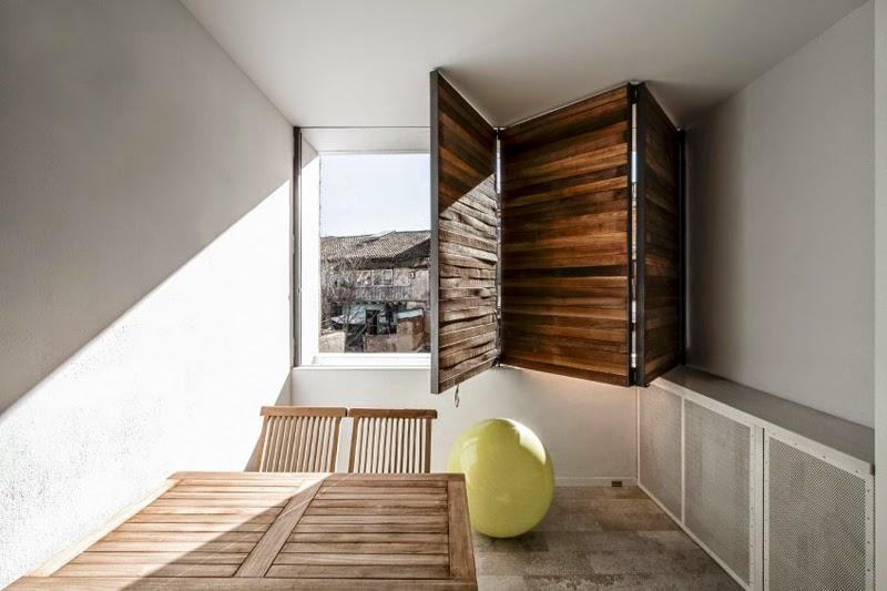 Maison Réhabilitée à Valence, en Espagne, Architecture Durable