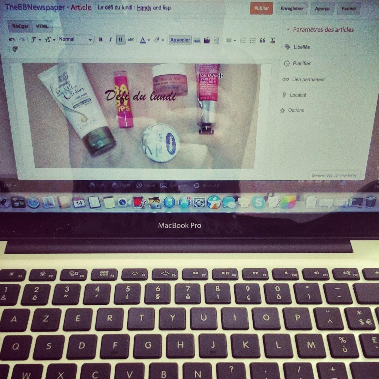 TheBBNewspaper︱Blog beauté: #Instagram, une semaine