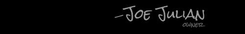 Joe Julian, owner