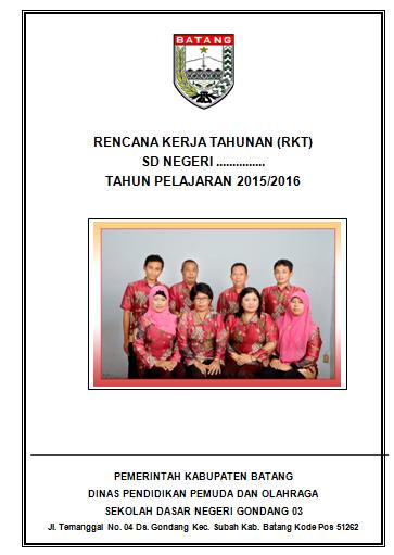 Download Contoh Rencana Kerja Tahunan Sekolah (RKT)