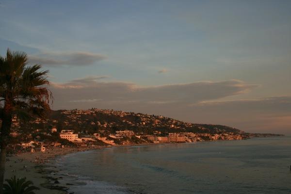 Dusk Laguna Beach