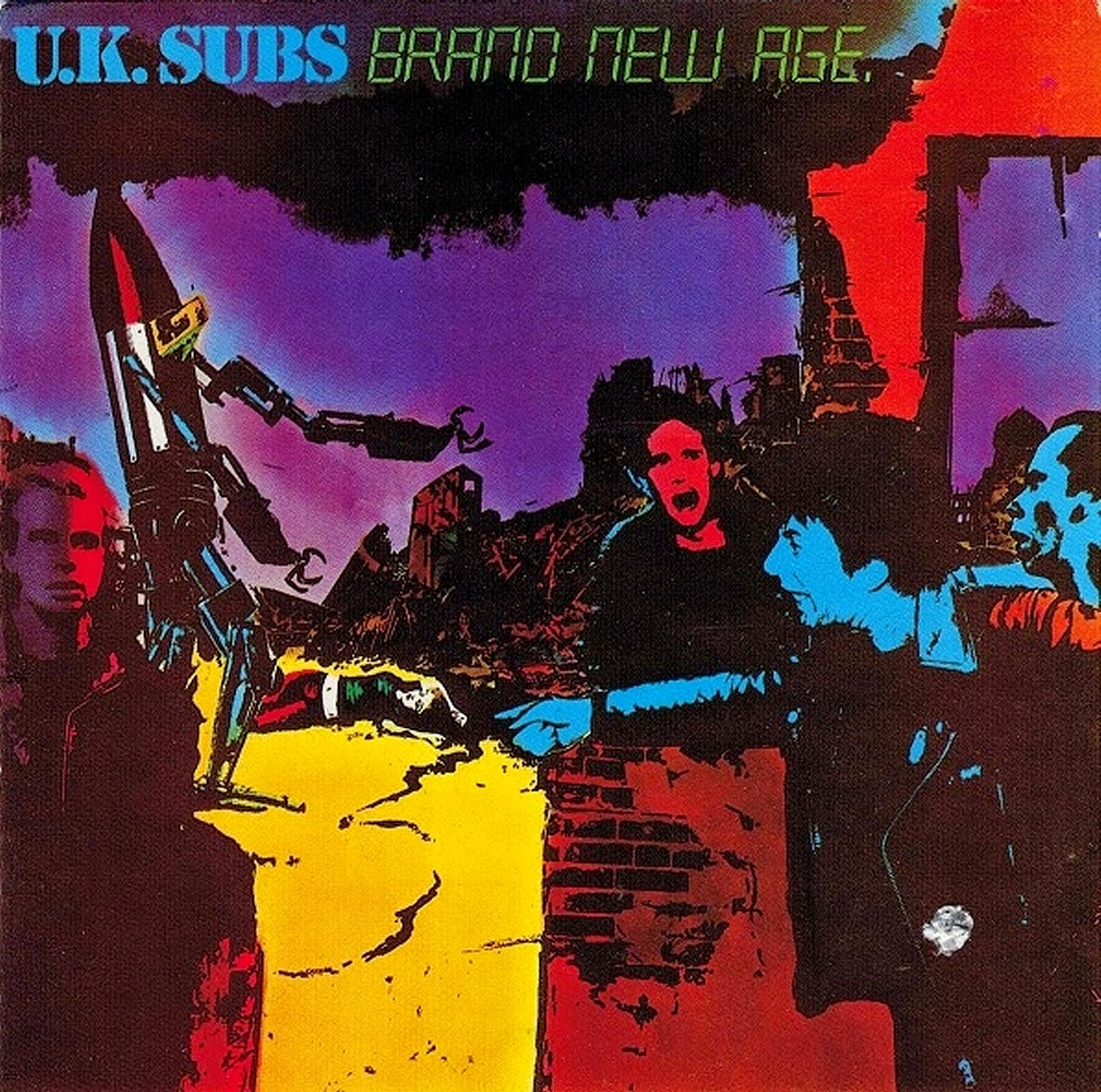 UK Subs The Punk Is Back