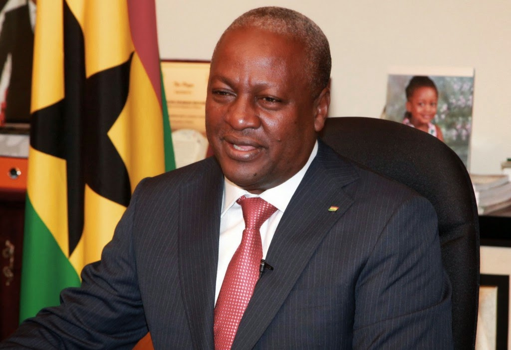 Mahama cuts sod for construction of five new hospitals