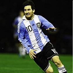 Foto Messi di Argentina