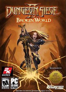 Dungeon Siege II: Broken World PC Cover