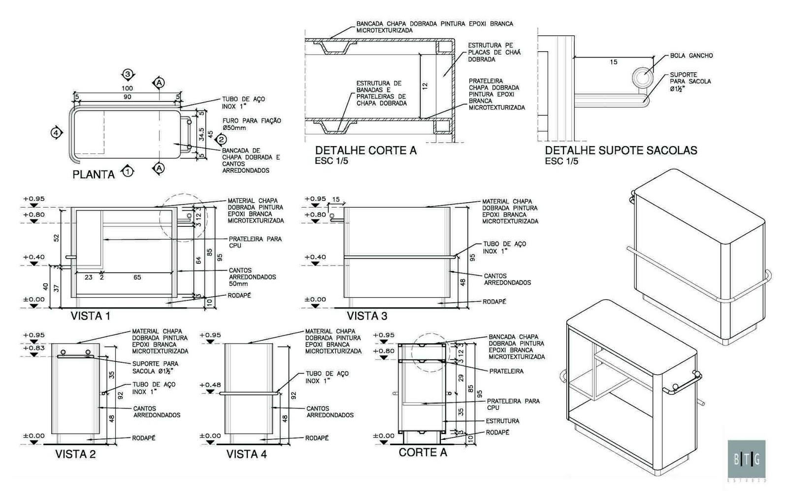 Imagens de #5A6E71 MARIANA PROJETISTA: Arquitetura #:Nichos de projeto de interiores 1600x998 px 3472 Bloco Autocad Banheiro Corte
