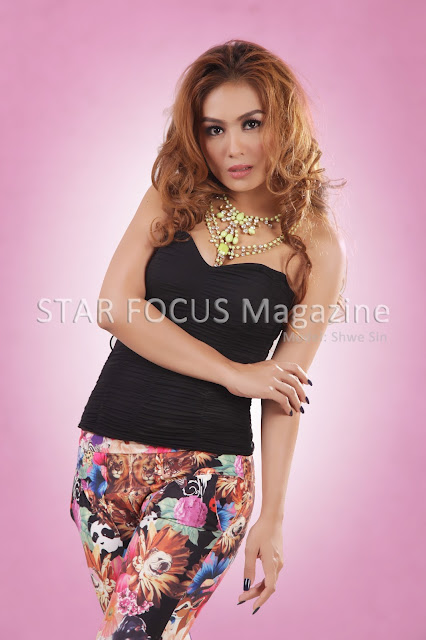 star focus magazine model shwe sin