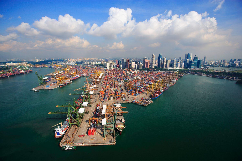 Singapore Container Terminals