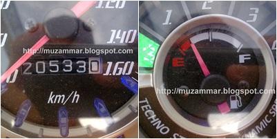 Jupiter Z 2010 karbu,seberapa irit sih?