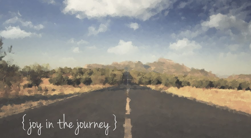 { joy in the journey }
