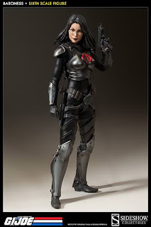 "Sideshow Collectibles 1/6 Scale GI Joe 12"" Baroness Figure"