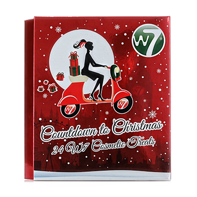 w7 countdown to christmas cosmetic treats advent calendar
