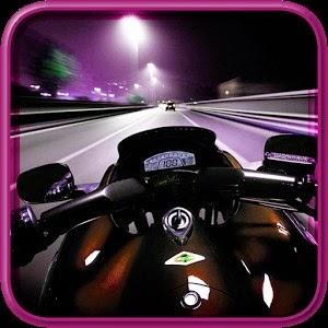 تحميل لعبة سباق الموتوسيكلات للاندرويد Night Moto Race