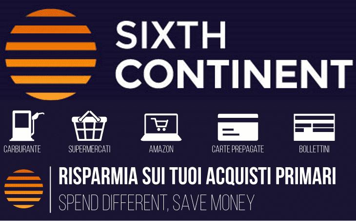 Risparmia sui tuoi acquisti primari con Sixthcontinent
