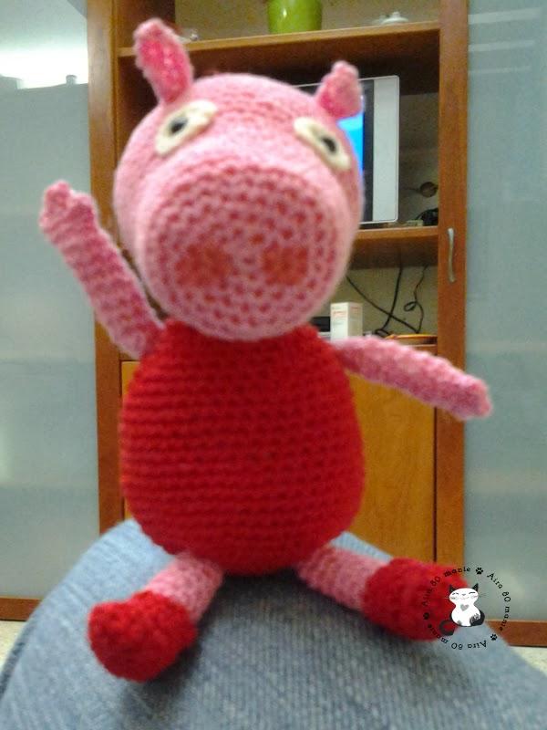 Aira80manie: Peppa Pig amigurumi