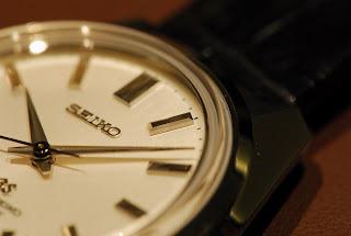 cadran de la Grand Seiko SBGW047