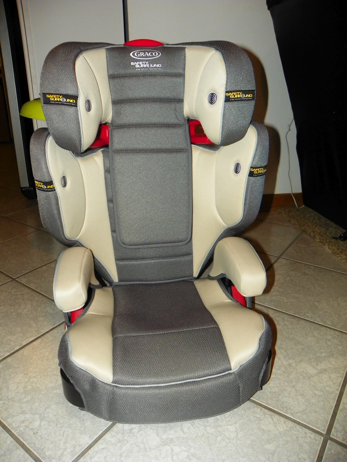 You Now Have An Amazing And Safe TurboBooster Car Seat With Safety Surround