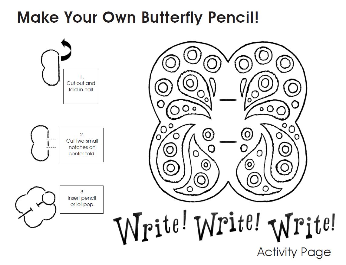 Butterfly Pencil