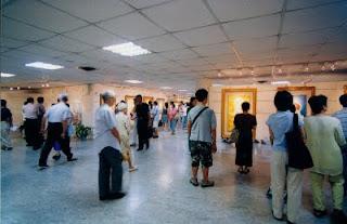 這兩次畫展所展出的觀世音菩薩法相,是由海峽兩岸佛像畫家聯合展出,包括台灣佛畫家覺妙玄明居士,以及中國大陸畫家程宗元居士所恭繪。