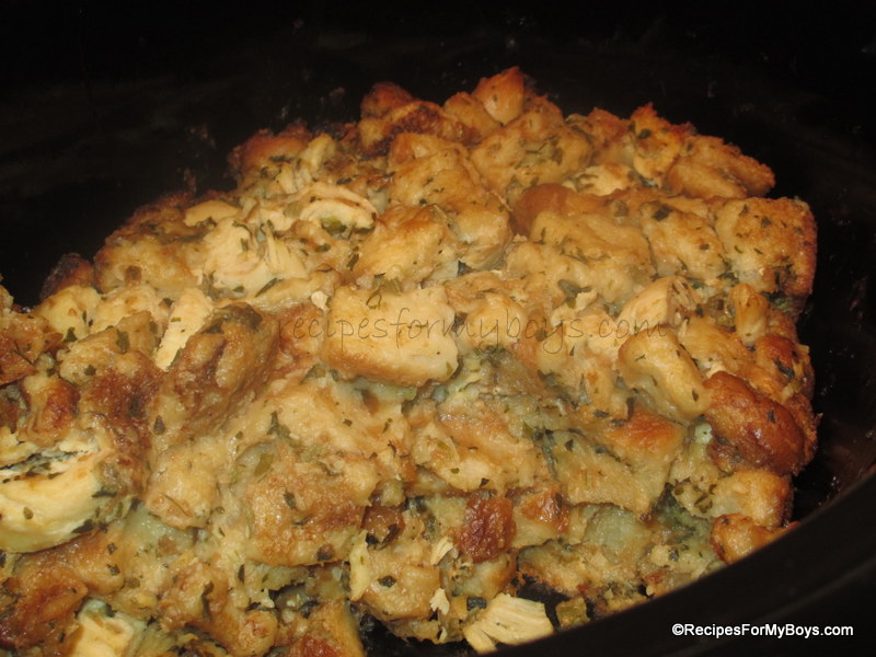 Easy crockpot chicken and dressing recipes