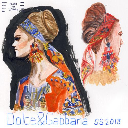 Dolce & Gabbana, SS 2013.