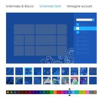Personalizzare Schermata Start Win 8