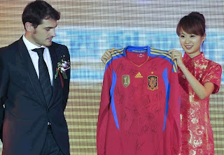Casillas at China