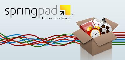 Springpad para Pc y dispositivos móviles