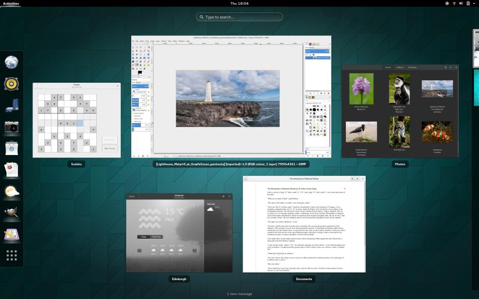 GNOME 3 Desktop