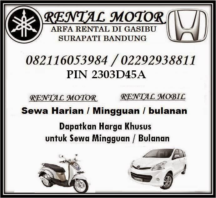 RENTAL MOTOR  BANDUNG / Rental Motor Di Bandung