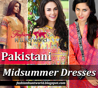 Pakistani Midsummer Dresses 2015-2016