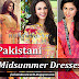Pakistani Midsummer Dresses 2015-2016 | Stylish And Modern Midsummer Dresses By Pakistani Top Brands