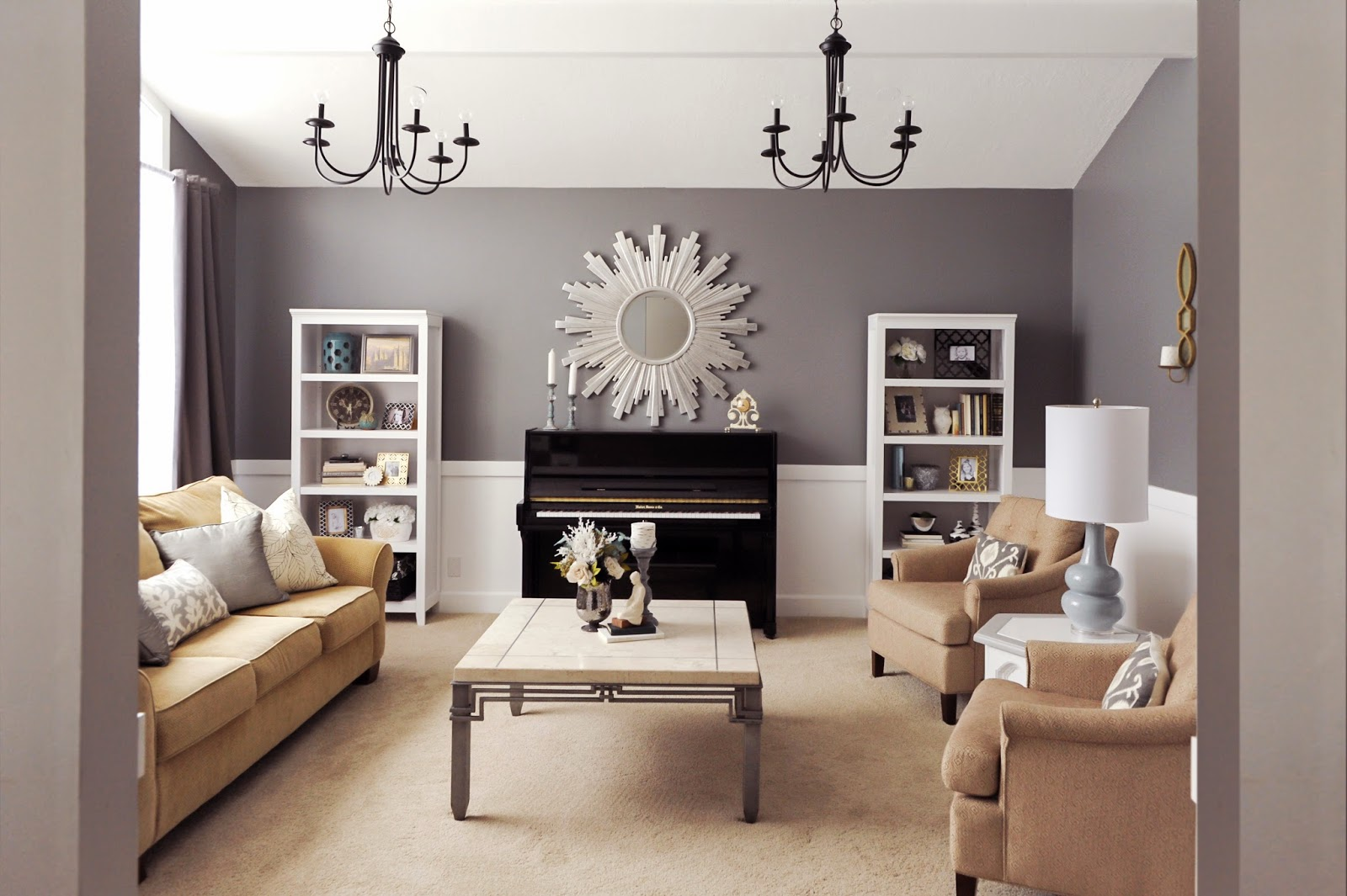 Studio 7 Interior Design: Client Reveal:Transitional Chic Formal ...