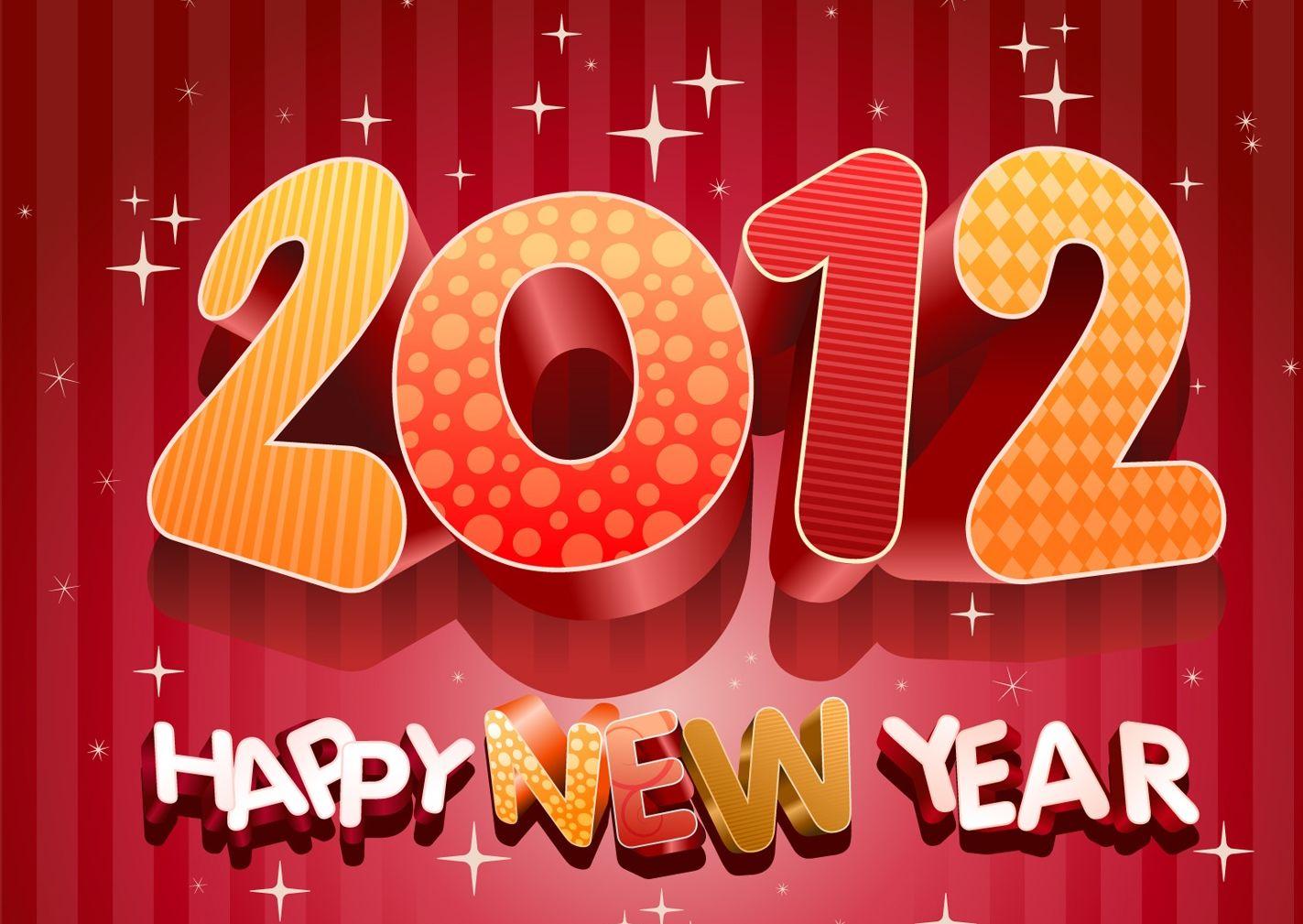 Cartes de VOEUX 2012 bonne année 2012 - Jaime Je Partage