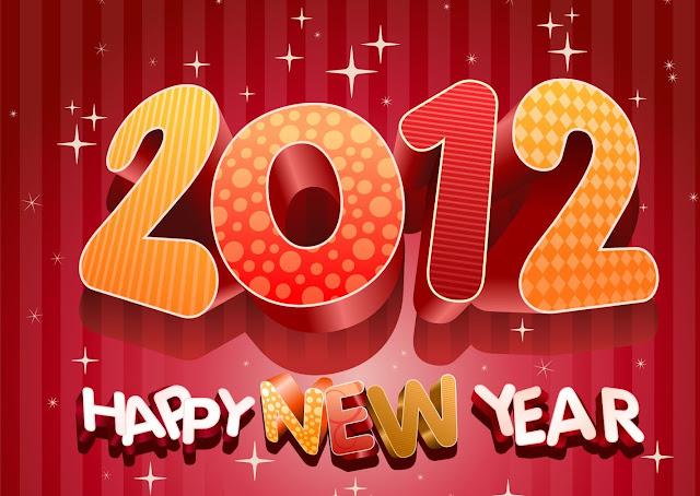 Cartes de voeux 2012 bonne année 2012
