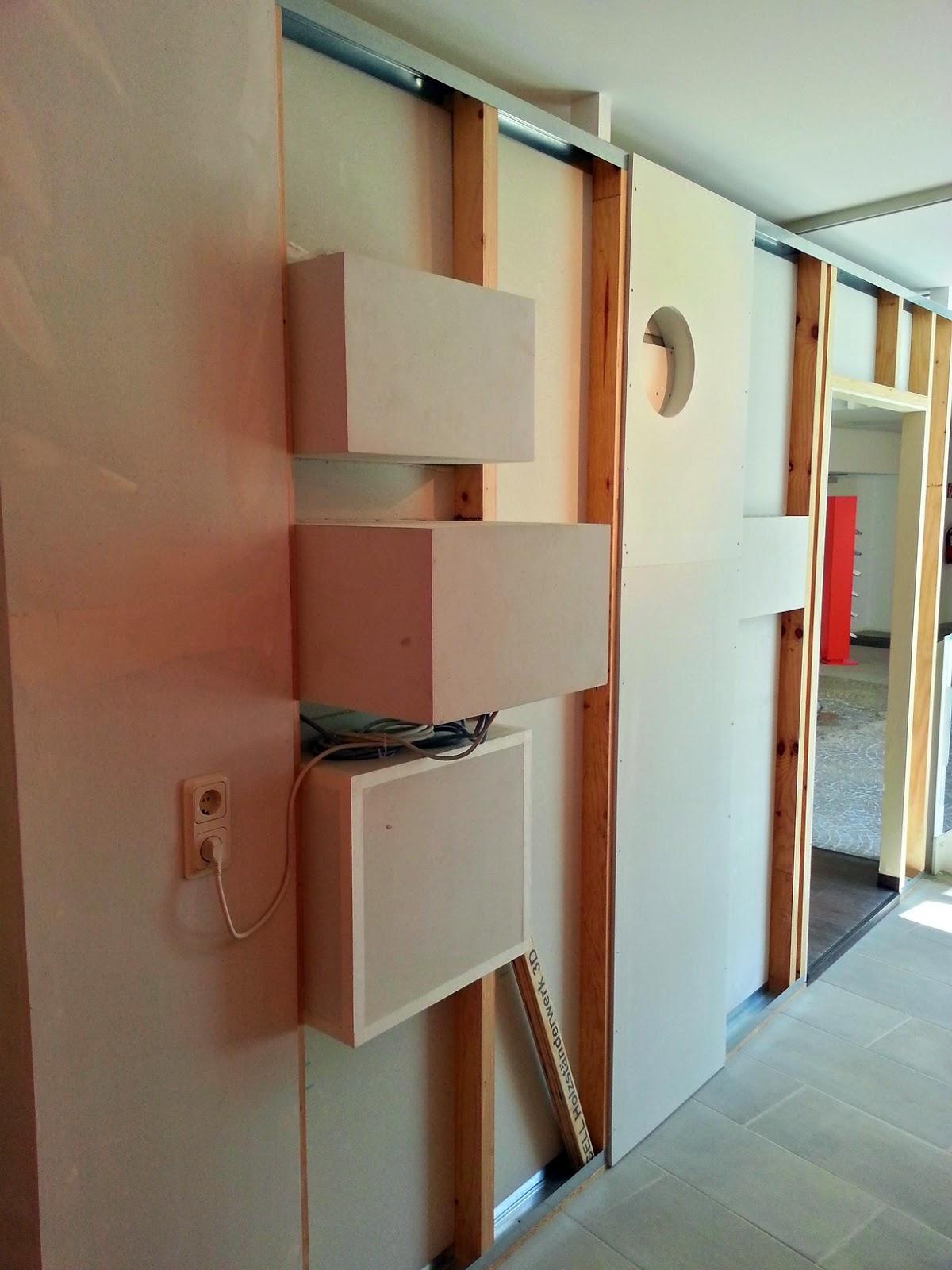 Rozwiązania konstrukcyjne ściany z wnękami samonośnymi