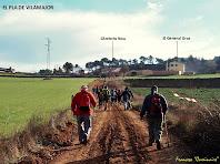 """Camí del nucli principal del Pla de Vilamajor. Autor: Francesc """"Caminaire"""""""