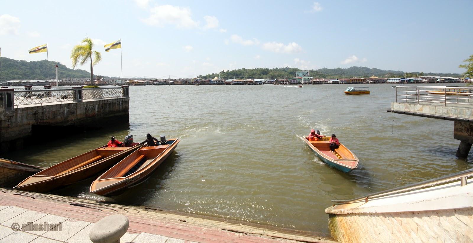 Galeri Potret: # 118 Kampong Ayer - Melalui Kampong Sungai ...